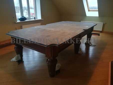 Демонтаж бильярдного стола 10 футов