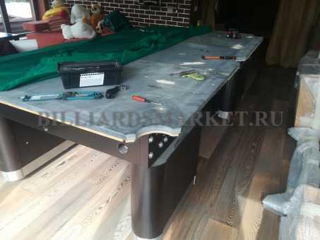 Демонтаж бильярдного стола 9 футов