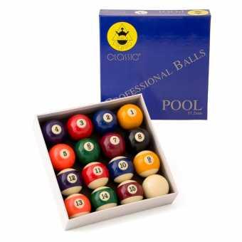 Бильярдные шары для пула Classic 57.2 мм