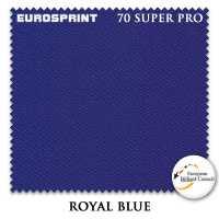 Бильярдное сукно Eurosprint 70 Super Pro 198 см Royal Blue