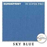 Бильярдное сукно Eurosprint 70 Super Pro 198 см Sky Blue