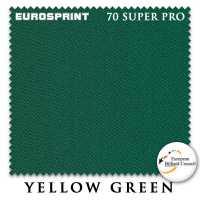 Бильярдное сукно Eurosprint 70 Super Pro 198 см Yellow Green