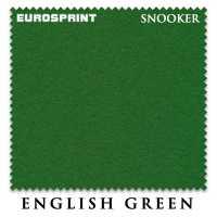 Бильярдное сукно Eurosprint Snooker 190 см English Green
