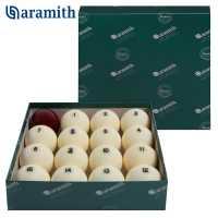 Бильярдные шары Aramith Premier 68 мм бордовый биток