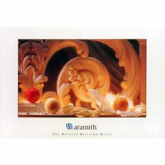 Постер бильярдный Aramith Carom , 100×75 см