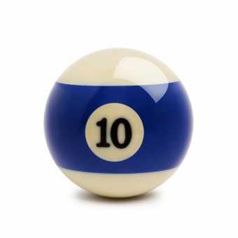 Бильярдный шар №10 Standard Pool 57,2 мм