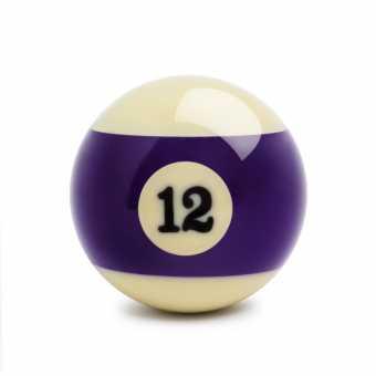 Бильярдный шар №12 Standard Pool 57,2 мм