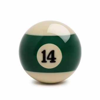 Бильярдный шар №14 Standard Pool 57,2 мм