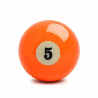 Бильярдный шар №5 Standard Pool 57,2 мм