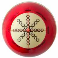 Тренировочный шар 57.2 мм Training, красный