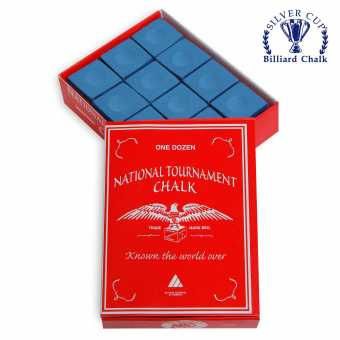 Мел National Tournament Blue 12 шт