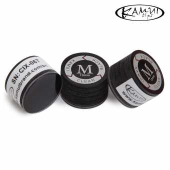 Наклейка для кия Kamui Clear Black 13 мм Medium