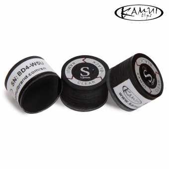 Наклейка для кия Kamui Clear Black 13 мм Soft