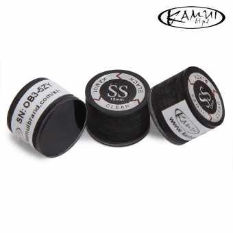 Наклейка для кия Kamui Clear Black 13 мм  Super Soft