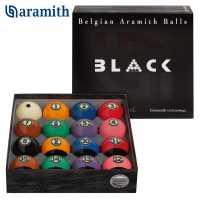Бильярдные шары для пула Aramith Tournament Pool BLACK 57,2 мм