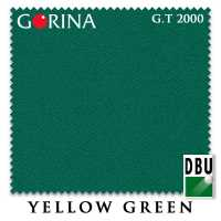 Бильярдное сукно Gorina Granito Tournament 2000 197 см Yellow Green