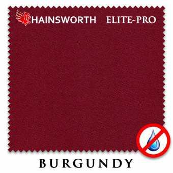 Бильярдное сукно Hainsworth Elite Pro Waterproof 198 см Burgundy