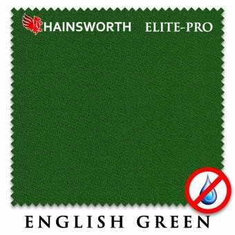 Бильярдное сукно Hainsworth Elite Pro Waterproof 198 см English Green