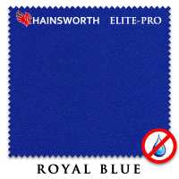 Бильярдное сукно Hainsworth Elite Pro Waterproof 198 см Royal Blue