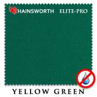 Бильярдное сукно Hainsworth Elite Pro Waterproof 198 см Yellow Green