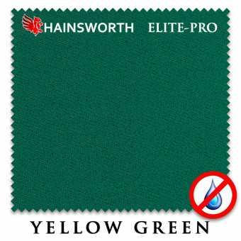 Бильярдное сукно Hainsworth Elite Pro Waterproof 198 см Yellow Green