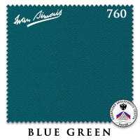 Бильярдное сукно Iwan Simonis 760 195 см Blue Green
