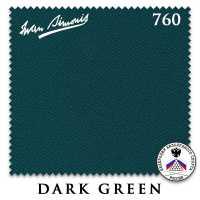 Бильярдное сукно Iwan Simonis 760 195 см Dark Green
