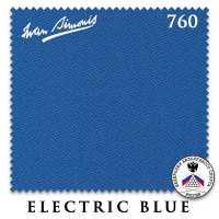 Бильярдное сукно Iwan Simonis 760 195 см Electric Blue