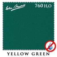 Бильярдное сукно Iwan Simonis 760 H2O 195 см Yellow Green