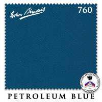 Бильярдное сукно Iwan Simonis 760 195 см Petroleum Blue