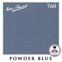 Бильярдное сукно Iwan Simonis 760 195 см Powder Blue
