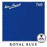 Бильярдное сукно Iwan Simonis 760 195 см Royal Blue