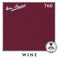 Бильярдное сукно Iwan Simonis 760 195 см Wine