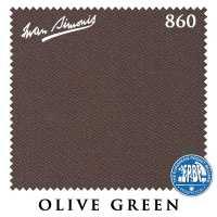 Бильярдное сукно Iwan Simonis 860 198 см Olive Green