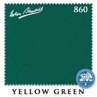 Бильярдное сукно Iwan Simonis 860 198 см Yellow Green