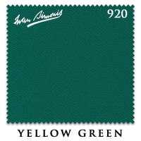 Бильярдное сукно Iwan Simonis 920 195 см Yellow Green