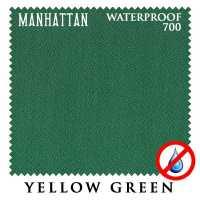 Бильярдное сукно Manhattan 700 Waterproof 195 см Yellow Green