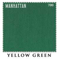 Бильярдное сукно Manhattan 700 195 см Yellow Green