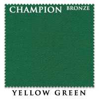 Бильярдное сукно Champion Bronze 195 см Yellow Green