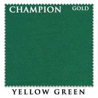 Бильярдное сукно Champion Gold 195 см Yellow Green