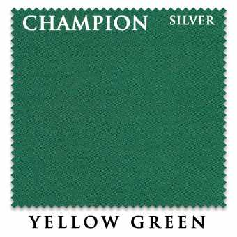 Бильярдное сукно Champion Silver 195 см Yellow Green