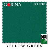 Бильярдное сукно Gorina Granito Tournament 2000 193 см Yellow Green