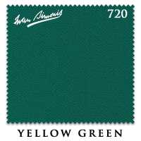 Бильярдное сукно Iwan Simonis 720 195 см Yellow Green