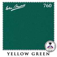 Бильярдное сукно Iwan Simonis 760 206 см Yellow Green