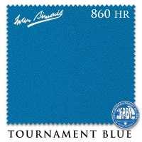 Бильярдное сукно Iwan Simonis 860HR 198 см Tournament Blue
