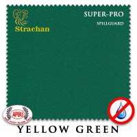 Бильярдное сукно Strachan SuperPro SpillGuard 198 см Yellow Green
