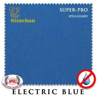 Бильярдное сукно Strachan SuperPro SpillGuard 198 см Electric Blue