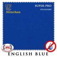 Бильярдное сукно Strachan SuperPro SpillGuard 198 см English Blue